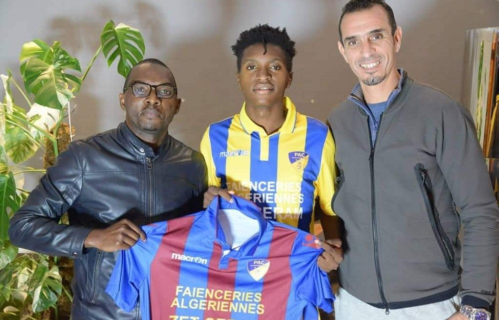 Former Kampala Capital City Authority (KCCA) football youngster Allan Okello was officially unveiled on Tuesday by Algerian Club Paradou AC as their new player.