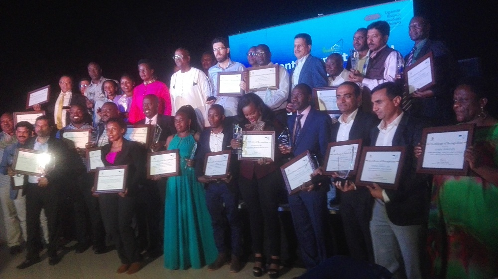 Olam Uganda Limited who procures, processes and exports Cotton, Cocoa, Sesame and Coffee were yesterday announced the top exporters of 2019, beating 2018 Winners UGACOF Limited to the 25th President's Exports Award.