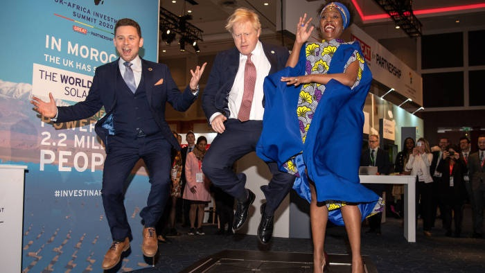 British Prime Minister Boris Johnson is calling for a renewed partnership between the United Kingdom and Africa.