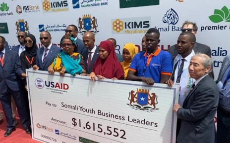 The United States Agency for International Development (USAID) is funding a programme by the Somali government aimed at creating opportunities to empower the youth in the country.