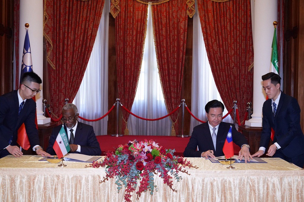 Taiwan venturing into East Africa via Somaliland