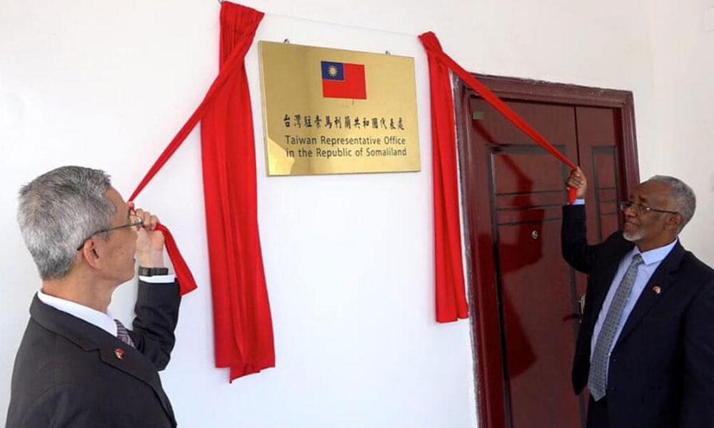 Taiwan Official Opens Embassy in Somaliland Capital Hargeisa - East African  Business Week