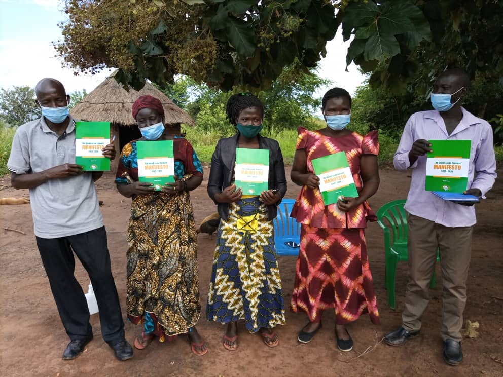 As Uganda prepares to conduct its National General Election in 2021, smallholder farmers have called upon all political parties intending to participate to prioritize Agriculture while drafting their manifestos.