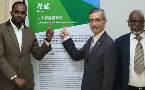 Taiwan Opens Scholarship to Somaliland Students