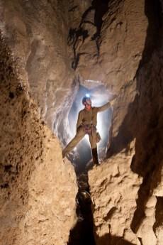 Ramo Fossile di Sinistra, zona del Meandro Asciutto (foto Sandro Sedran team, archivio GSM)