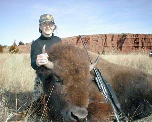Kansas Buffalo Hunting Rifle And Archery Buster S