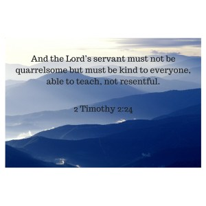 2 Timothy 2-24
