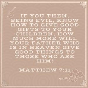 Matthew 7-11