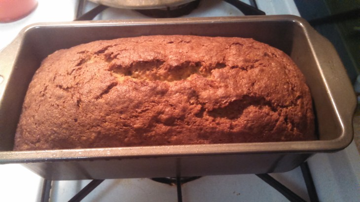 Easy and delicious banana bread