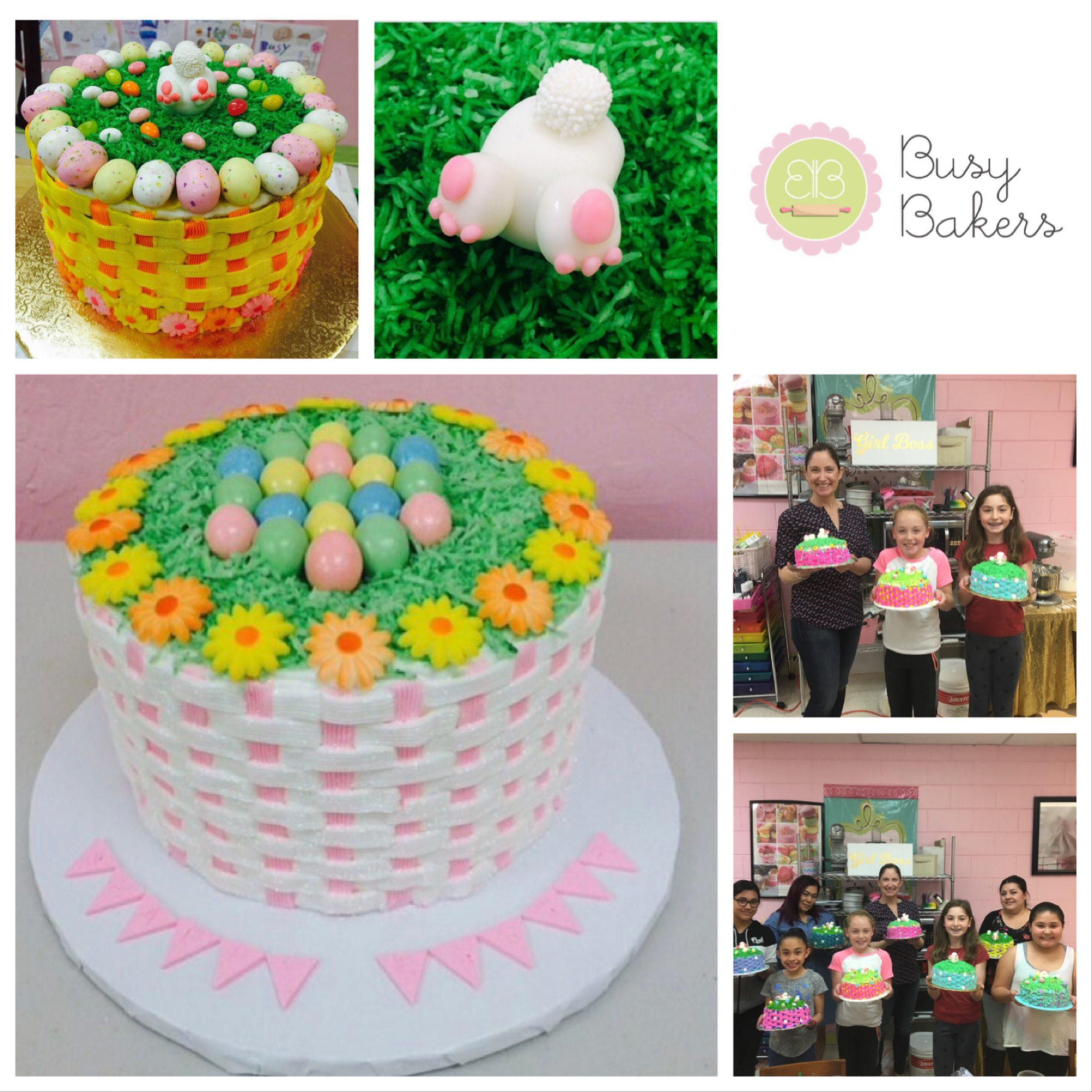 Easter Basket Cake Online Class