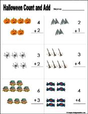 Halloween Activities For Kindergarten Math | Cartoonsite.co