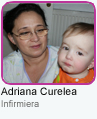 Adriana Curelea - Infirmiera grupa Baby Bees