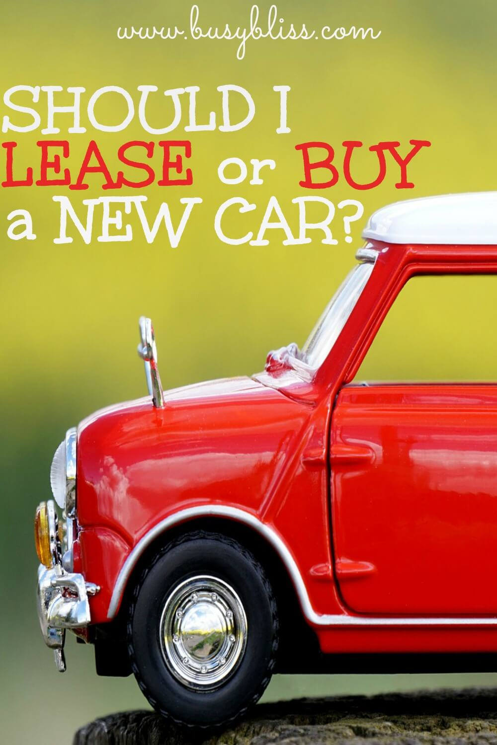 should i lease or buy a new car
