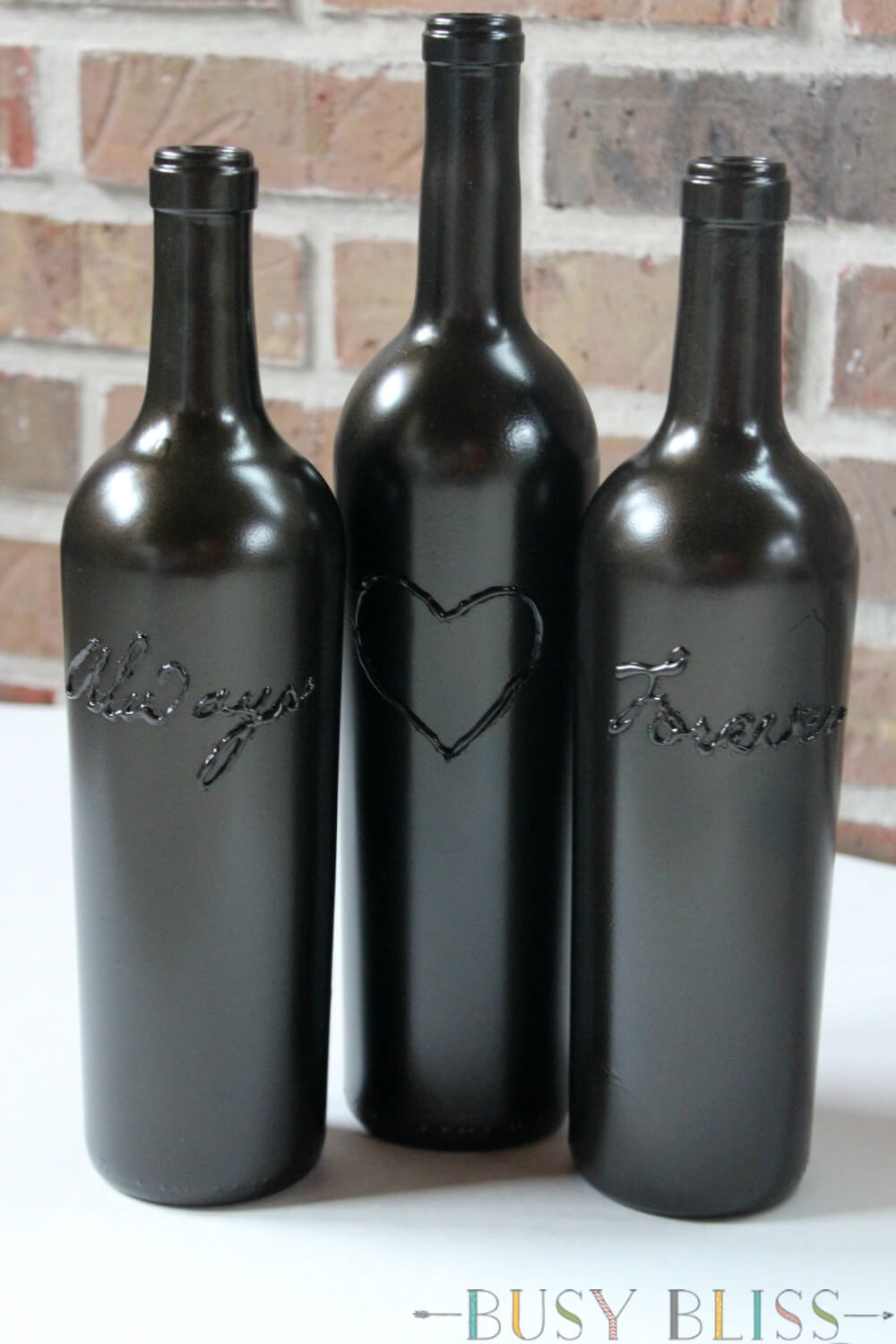 The Simple Way To Make Decorative Wine Bottles  Busy Bliss. Nautical Decorating. Decorative Stones For Vases. Funny Door Decorations. Home Decorating Magazines. Wood And Metal Wall Decor. Sliding Doors Room Dividers. Wall Decor For Dining Room. Checkered Flag Decorations