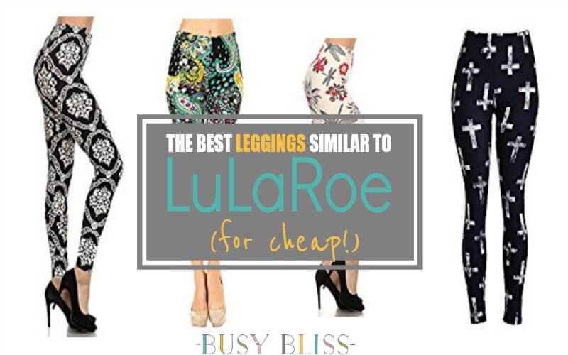 The Best Leggings Similar to LuLaRoe {for Cheap}