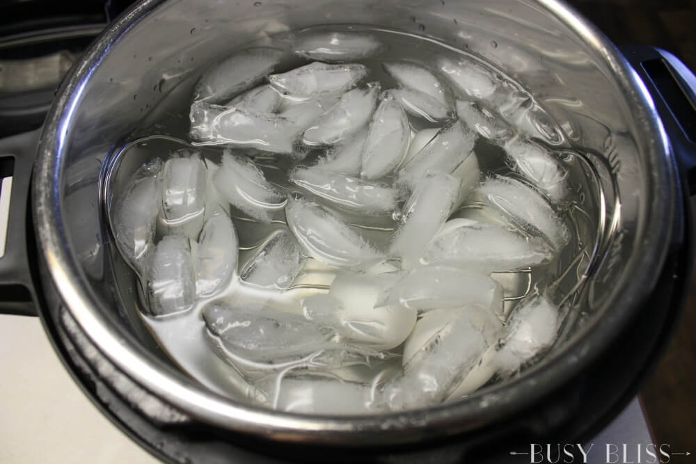 If you are looking for a way to cook easy peel hard boiled eggs so the shells practically peel themselves, check out this method using the Instant Pot!