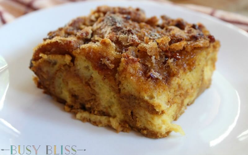 The Most Delicious Pumpkin French Toast Bake