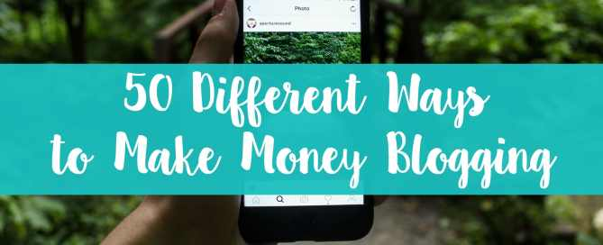 Looking for new ways to make money blogging? Here are over 50 different places to find those opportunities.