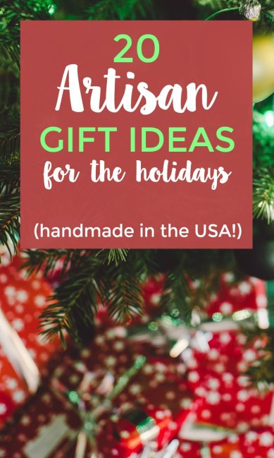 Getting ready for holidays? When you're looking for special gifts, consider something handmade in the USA. Something for everyone!