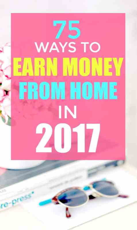 Earn money from home with one of these jobs.