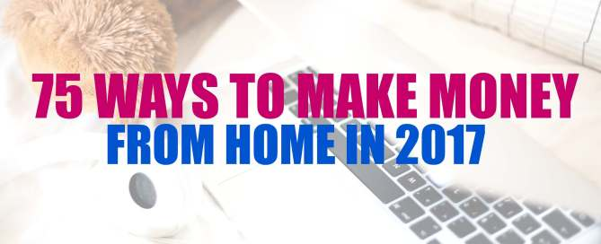 Earn money from home with one of these 75 job ideas and companies.
