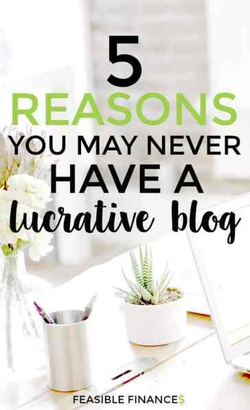 Want to have a successful + lucrative blog? Here's what NOT to do.