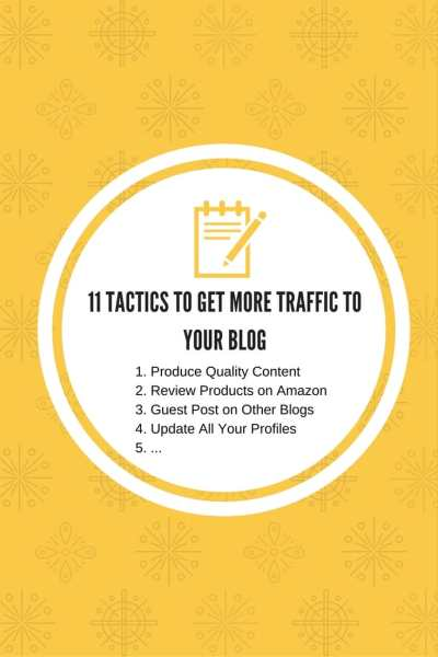 I share 11 creative ways you can build more traffic to your new or existing blog. Promotion of your content is key to get more readers!