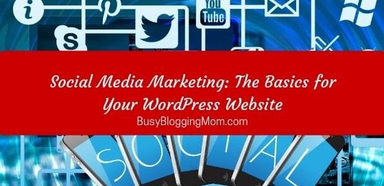 Social Media Marketing for WordPress