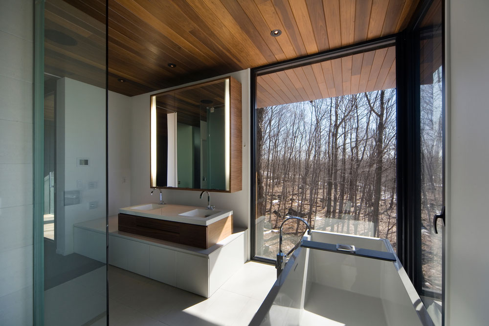 Mont-Saint-Hilaire Residence - Beautiful Interiors on Interior:ybeqvfpgwcq= Modern House  id=99413