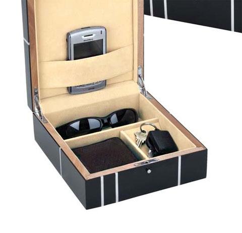 metropolitian men s jewelry valet chest