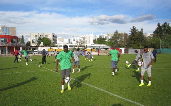 Flying-Eagles-of-Nigeria-Training-in-Germany-BusyBuddiesNg