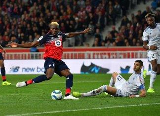 victor osimhen scores against strasbourg busybuddiesng