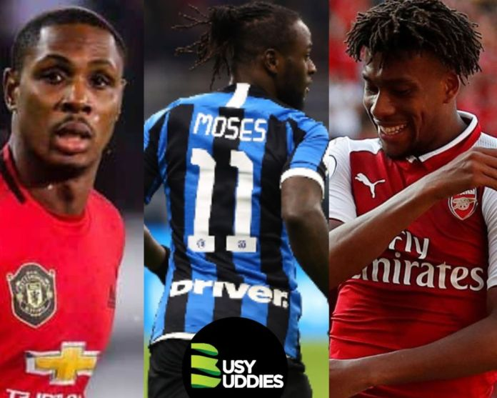 Nigerian Players Abroad