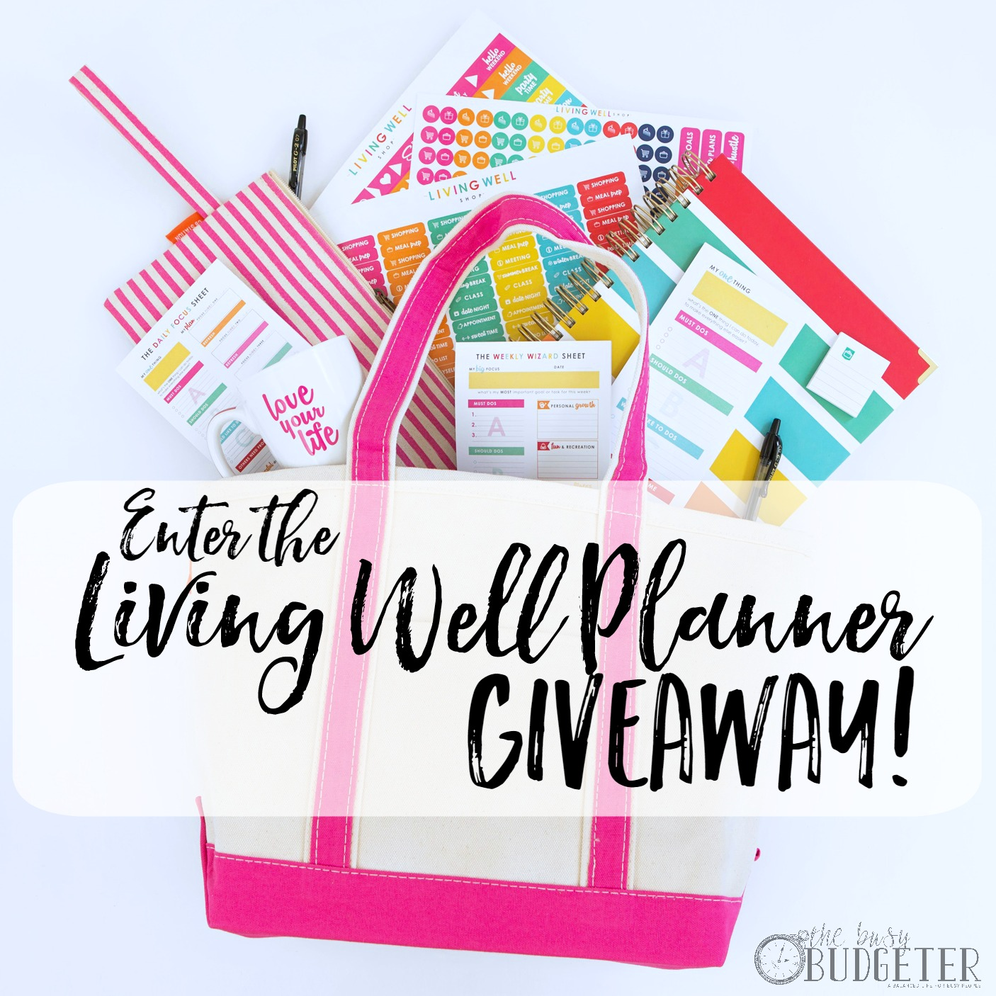 Living Well Planner Giveaway Has A Winner