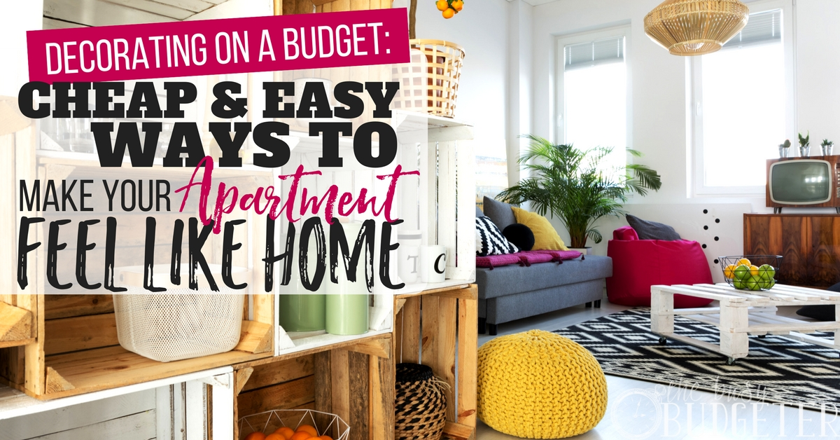 Apartment Decorating on a Budget: Make Your Apartment Feel ... on Apartment Decor Ideas On A Budget  id=11747