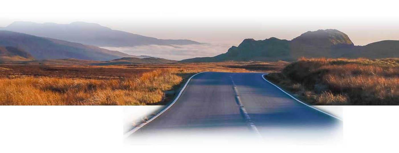 Long road to Ben Nevis