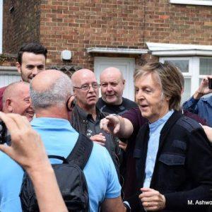Paul McCartney in Liverpool