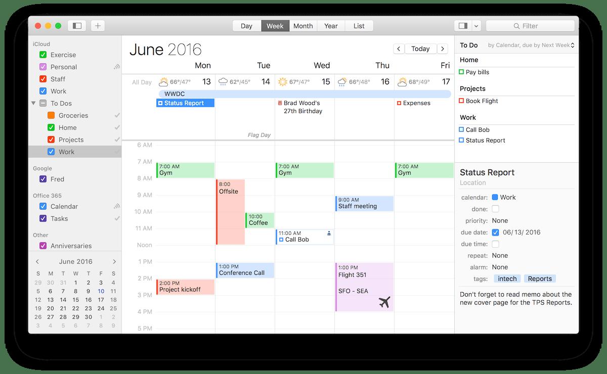 BusyCal 3 for Mac 3.1.2 破解版 - 优秀的任务日历工具