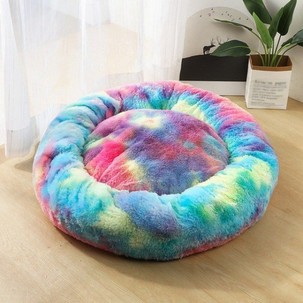 Calming Dog Pet Bet Anti-Anxiety Soothing Cat Beds MultiColor A