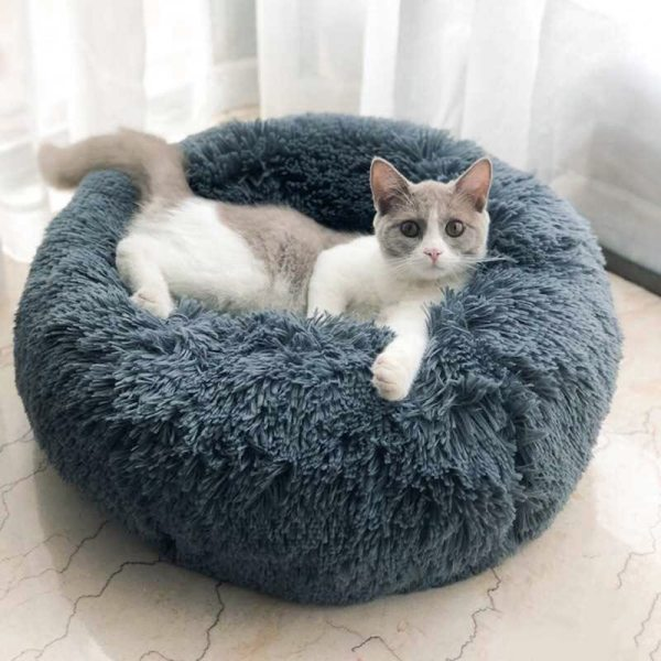 Calming Dog Bed Pet Anti-Anxiety Cat Beds