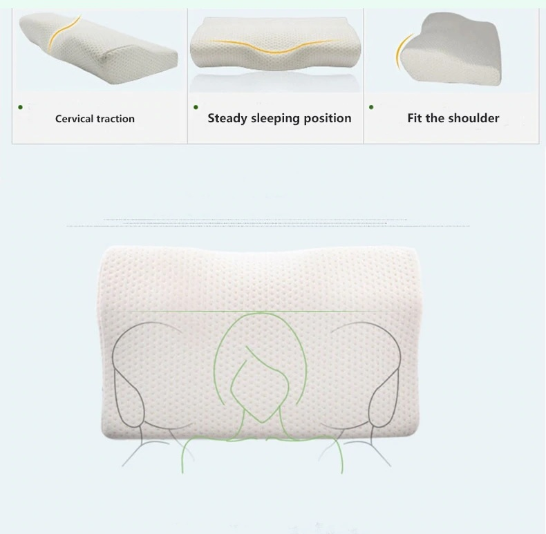 Cervical Pillow Memory Foam For Neck Pain - Sleeping Positions