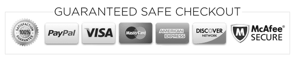 Guaranteed Safe Checkout at BusyCamel.com