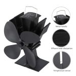 Heat Powered Wood Stove Fan Parts 2