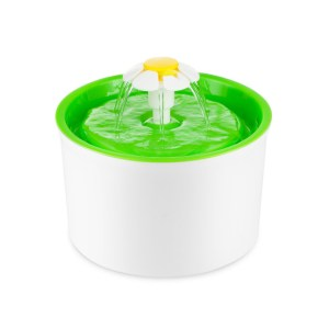 Purified Cat Pet Water Drinking Fountain - Green