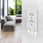 Wall Plate Outlet LED Night Light Primary