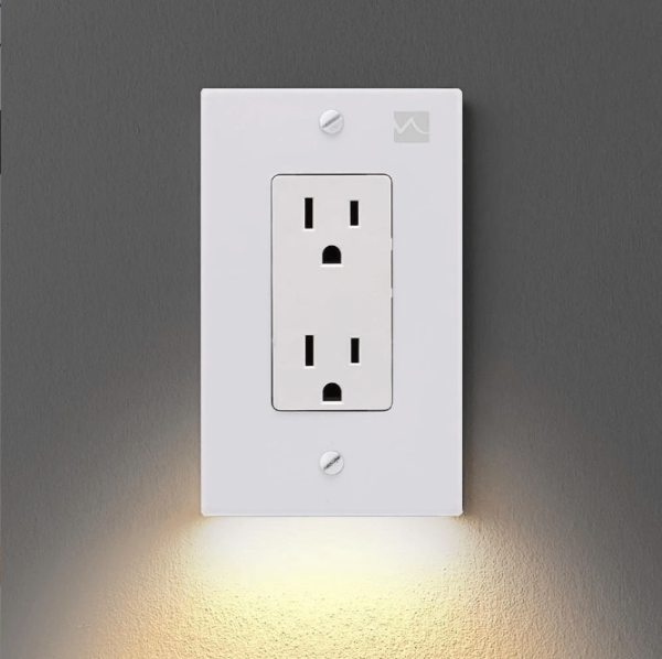 Wall Plate Outlet Led Night Light Busycamelshop Com