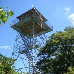 Albert Mountain Lookout Tower & Ranger Station