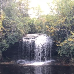 Panthertown Waterfall hike