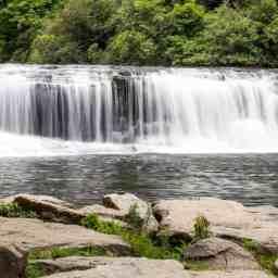High Falls, Hooker Falls, and three waterfalls at Triple Falls Hike
