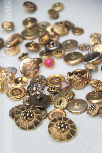 Busy In Brooklyn Blog Archive Vintage Buttons Earrings